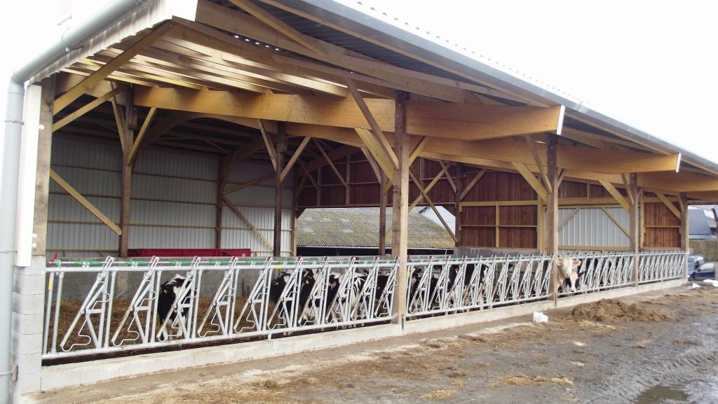 Concept bois construction et assemblage de b timents bois for Plan hangar agricole